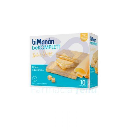 Bimanan BeKomplett Snack Sabor Queso 10 Crackers