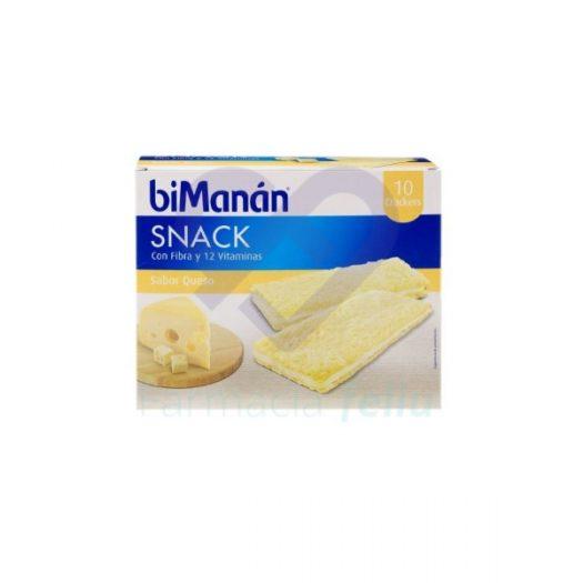 Bimanan Snack Sabor Queso 10 Crackers