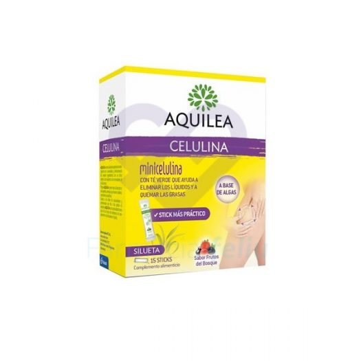 Aquilea Celulina 15 Sticks Sabor Frutos del Bosque