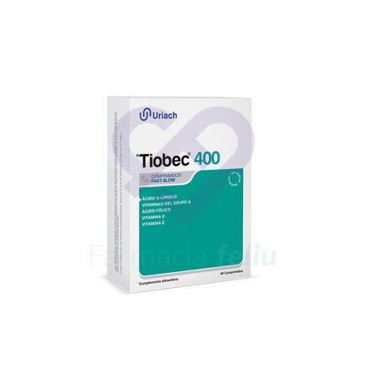 Tiobec Uriach 400 Mg 40 cp Aquilea