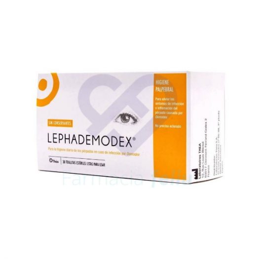Lephademodex 30 Toallitas Estériles Thea