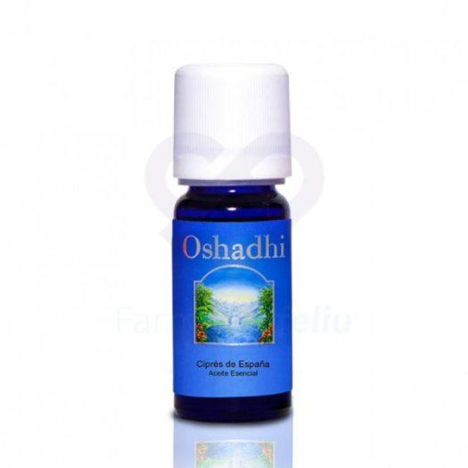 Bote de Oshadhi Aceite Esencial de Ciprés de España, 10 ml