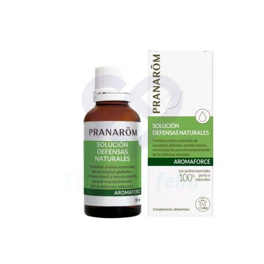Bote de Pranarom Solución Defensas Naturales, 30 ml