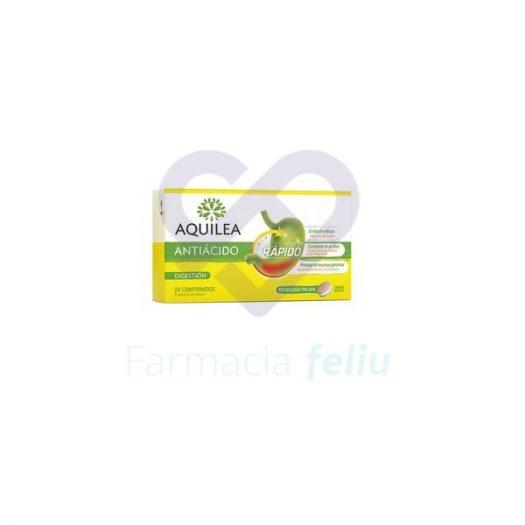 Aquilea Antiácido Efecto Rápido 24 Comprimidos