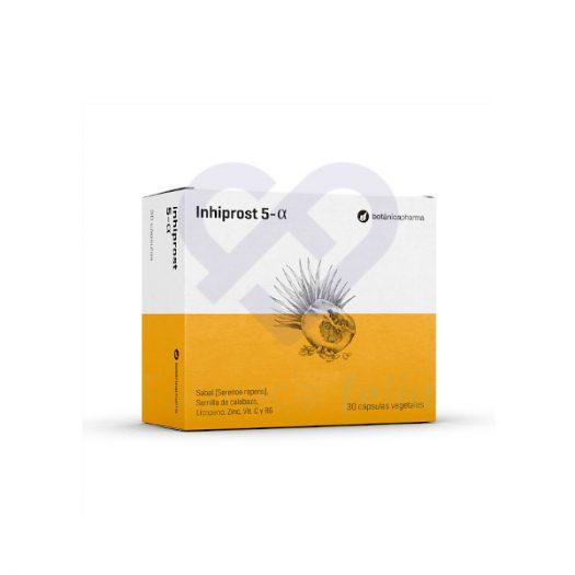 Caja Inhiprost 5-Alfa, 30 cápsulas de Boticapharma