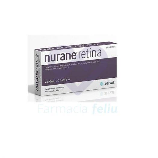 Nurane Retina 30 Cápsulas Laboratorios Salvat