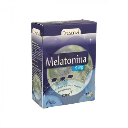 Caja Drasanvi Melatonina 1.9mg, 60 Cp