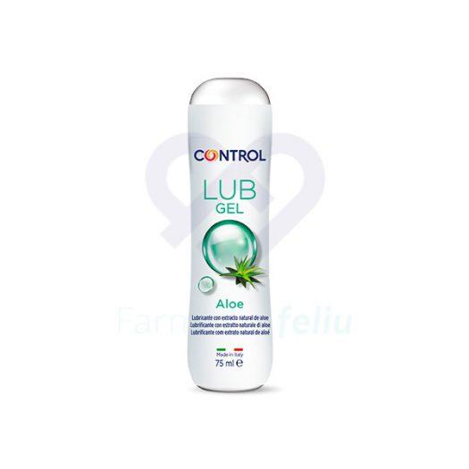 Bote Control Lub Gel Aloe, 75 ml