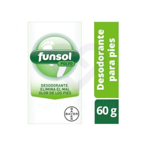 Caja de Funsol Polvo, 60 gr