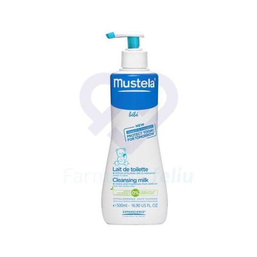 Bote con dosificador Mustela Loción Hipoalergénica, 500 ml