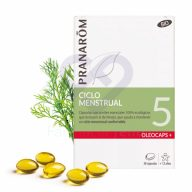 Caja Oleocaps 5 Ciclo Menstrual Bio, 30 cápsulas