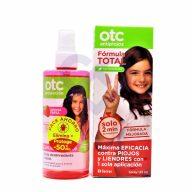 Pack Otc Spray Antipiojos 125ml + Spray Desenredante 250 ml