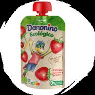 Envase Danonino Eco Fresa, 90 gr