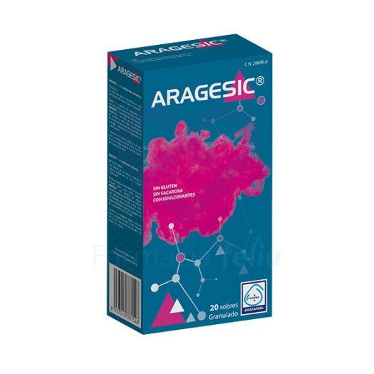 Caja de Aragesic, 20 Sobres