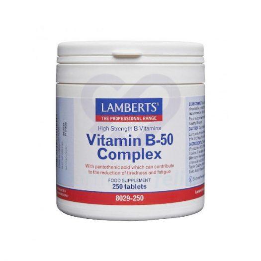 Bote Lamberts Vitamina B Complex, 60 Cápsulas