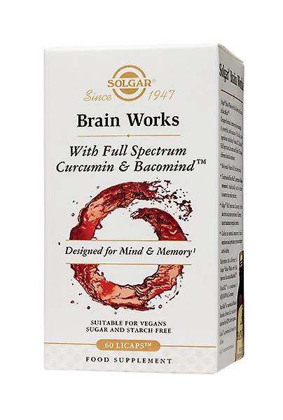 Caja de Solgar Brain Works, 60 Comprimidos