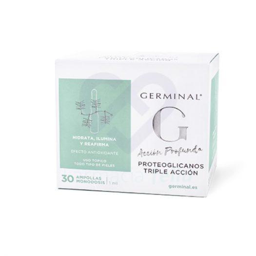 Caja de 30 Ampollas Germinal Acción Profunda Proteoglicanos Triple Acción