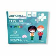 Mascarilla Infantil FFP2 NR Abfarma2000, Color Rosa 10 uds