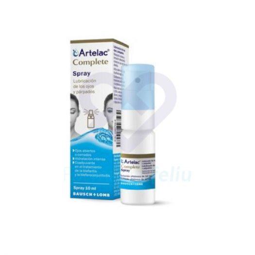 Bote de Artelac Complete Spray, 10 ml