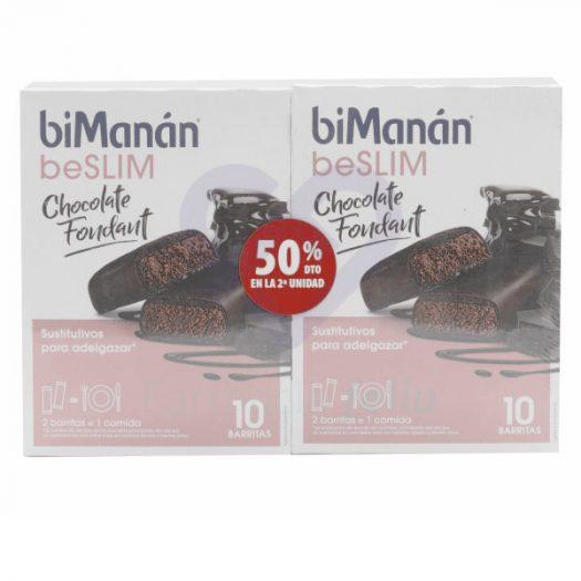 BiManan beSlim Chocolate Fondant. Duplo con 2ª Ud. al 50%