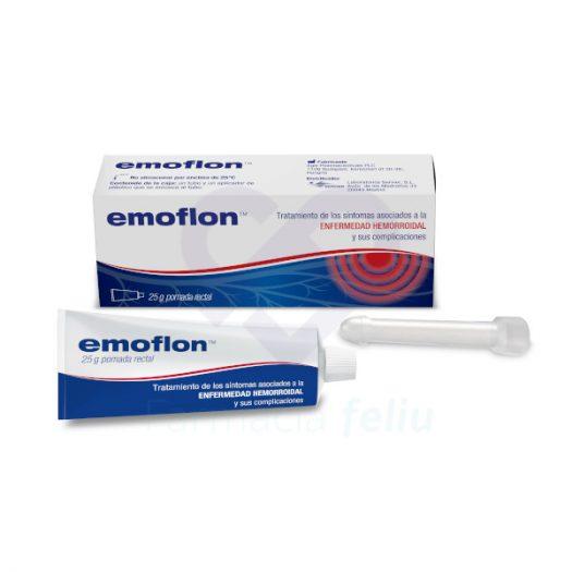 Emoflon Pomada Rectal, 25 gr