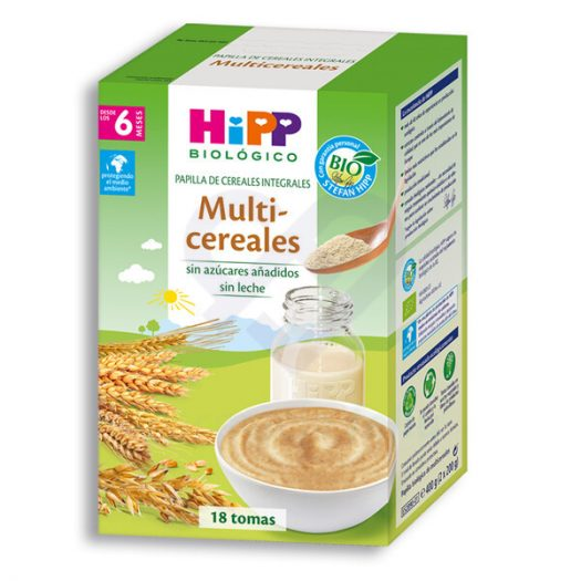 Caja de Hipp Multicereales, 400 gr