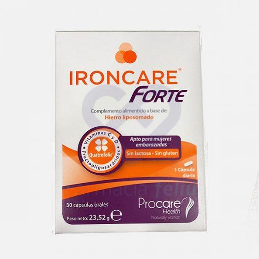 Ironcare Forte, 30 Cápsulas