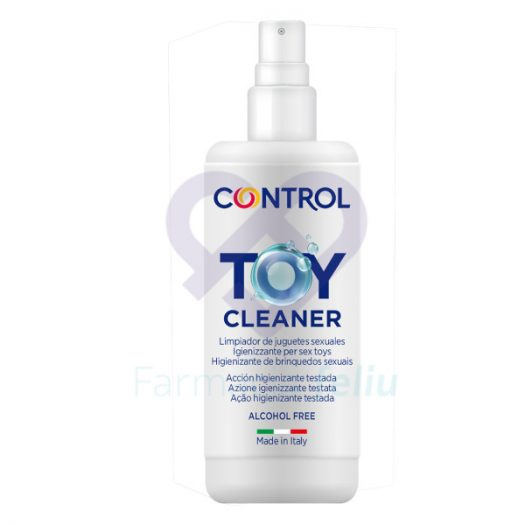 Control Toy Cleaner Limpiador Juguetes Sexuales, 50ml