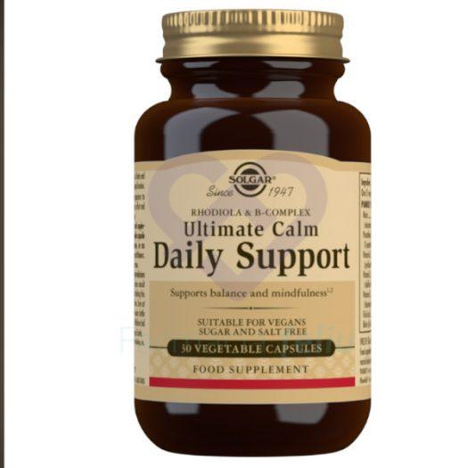 Solgar Ultimate Calm Daily, 30 Comprimidos